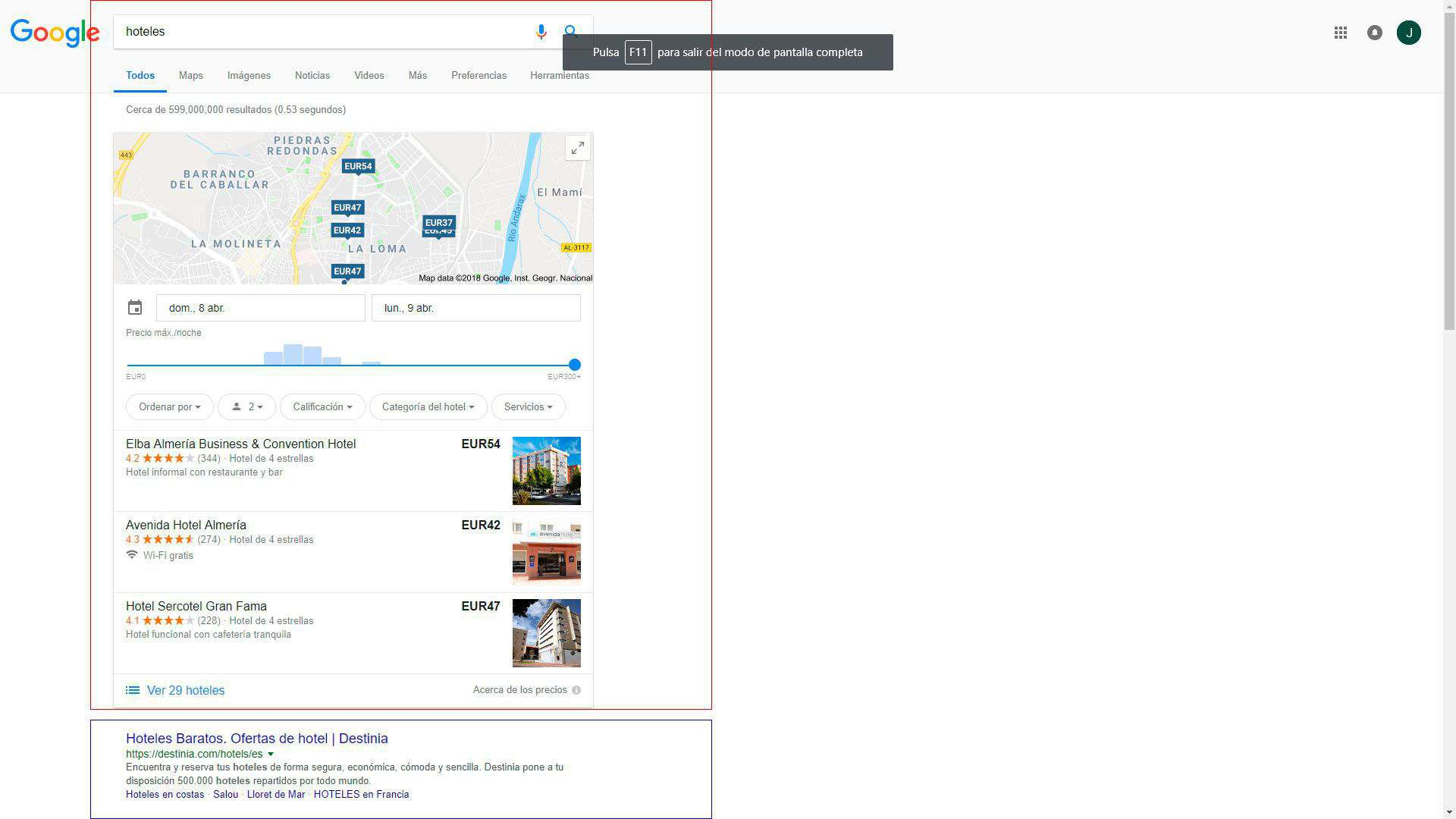 SEO y SEM Google