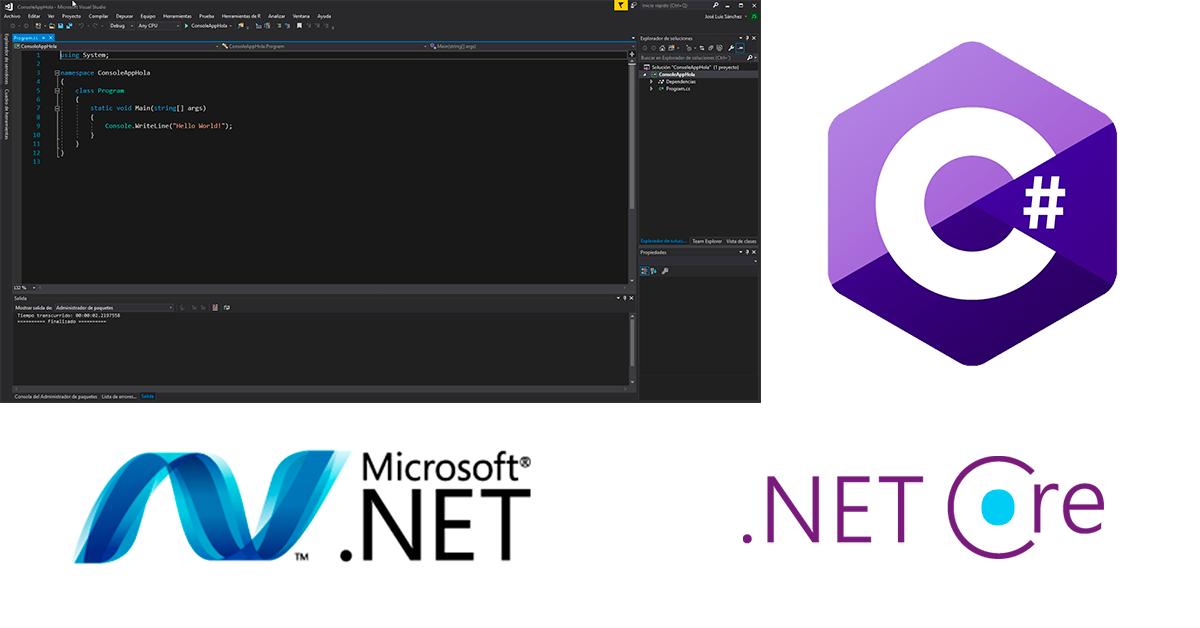 Aplicación .net core